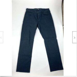 Hudson Byron Five Pocket Straight Leg Jean Navy 34